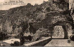 48 GORGE DU TARN CIRQUE DES BEAUMES  ROUTE DE LA MALENE AU ROZIER - Gorges Du Tarn