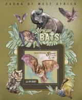 Sierra Leone   2015 Fauna African Bats - Sierra Leone (1961-...)