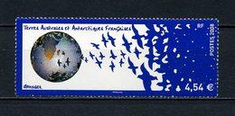 ... RARE...TAAF 2008 N° 519 ** Neuf MNH Superbe Cote 18 € Michel GRANGER Oiseaux Birds Globe Terrestre - Terres Australes Et Antarctiques Françaises (TAAF)
