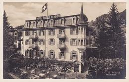 535/ Weggis, Hotel Rossli, Foto Blau, H Niedecken - LU Lucerne