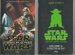 Star Wars L'empire Contre-attaque Et Le Réveil De La Force Pocket Jeunesse (PKJ) - Presses Pocket
