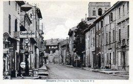 Donzère. La Route Nationale N°7. (Station Essence ESSO) - Donzere