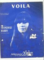 Partition Francoise Hardy  ..voila - Compositeurs De Musique De Film