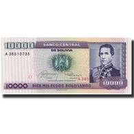 Billet, Bolivie, 10,000 Pesos Bolivianos, 1984-02-10, KM:169a, NEUF - Bolivie