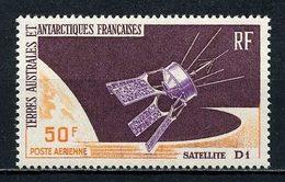 TAAF 1966  PA  N° 12 ** Neuf MNH Superbe C 85 € Espace Space Satellite D1 - Poste Aérienne