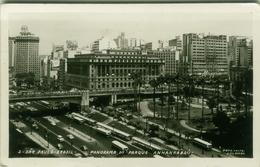 SAO PAULO - PANORAMA DO PARQUE ANHANGABAU  - FOTO POSTAL COLOMBO -  ( BG2865 ) - São Paulo