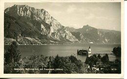 007290  Gmunden - Schloss Ort Mit Traunstein - Gmunden