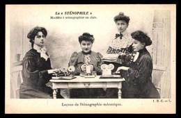 LA STENOPHILE, Machine A Stenographier En Clair - Ecoles