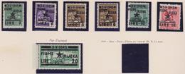 Occ. Jugoslava Fiume 1945 - F.lli D'Italia Soprastampati N. 14/20 MNH - Occup. Iugoslava: Fiume