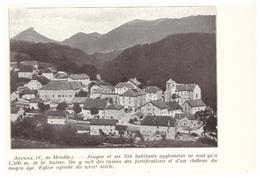 1924 - Iconographie - Jougne (Doubs) - Vue Générale - FRANCO DE PORT - Vieux Papiers