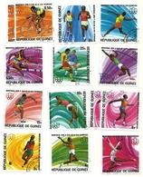1976 - Guinea Repubblica 560/71 Olimpiadi Di Montreal - Estate 1976: Montreal
