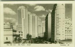 SAO PAULO - RUA SAO LUIZ - EDIT FOTOLABOR - RPPC POSTCARD 1950s  ( BG2868 ) - São Paulo