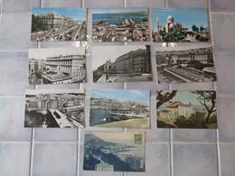 Lot De 20 Cpa Carte Postale Ancienne  - Alger Hotel Aletti Basilique Vue Generale Square Bresson   Ect - Algiers