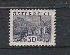 Mi. Nr. 536 Ex. Kleine Landschaften Feinst ** - 1918-1945 1. Republik
