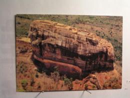 Sigiriya Rock - Vue Aérienne - Sri Lanka (Ceylon)