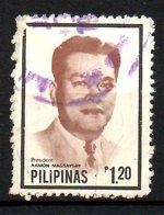 PHILIPPINES. N°1252 Oblitéré De 1981. Président Magsaysay. - Philippines