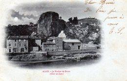 205-3762 -  30 - Alais - Le Rocher De Duret ( Clair De Lune ) - France