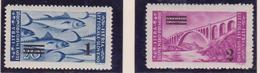 Occ. Jugoslava Isrtria E Litorale Sloveno 1946 -Fish Bridg 61/62 MNH - Occup. Iugoslava: Litorale Sloveno