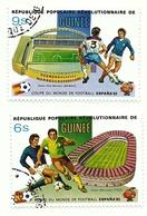 1982 - Guinea Repubblica 692 + 694 Mondiali In Spagna - Coppa Del Mondo