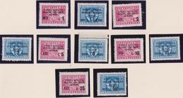 Occ. Jugoslava Isrtria E Litorale Sloveno 1947 - Amministrazione Militare 67/76 MNH - Occup. Iugoslava: Litorale Sloveno