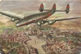 Gd Format :environ15cms X10cms -ref Y569-aviation - Avions -avion -compagnie Twa - Trans World Airline - - Avions
