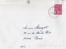 69 - RHONE - 69.GIVORS LES VERNES - 1979 - TàD DE TYPE A9 - Postmark Collection (Covers)