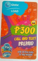 Globe 300 Pesos Call And Text - Philippines