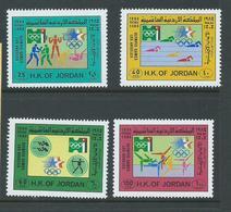 Jordan 1984 Los Angeles Olympic Games Set 4  MNH - Jordan