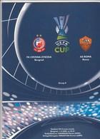 Programme A4 Format FC Red Star Crvena Zvezda Belgrade Serbia  FC AS Roma Ltaly  2005. Fc Football Match UEFA - Tickets D'entrée
