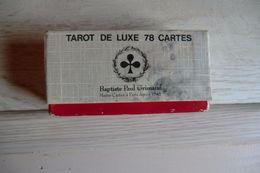 Jeux De Tarot De Luxe 78 Cartes De Baptiste Paul Grimaud Dans Sa Boite D'origine - Cartes à Jouer Classiques