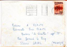 Portugal, Lettre De Lisbonne, Flamme Code Postal - 1910-... République