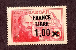 Madagascar N°260a N*/** Gomme Jaunie TB Cote 40 Euros !!! - Neufs