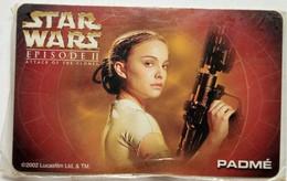 Globe Telecom Star Wars Padme 300 Pesos Mint - Philippines