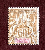 Madagascar N°47 Oblitéré  TB Cote 50 Euros !!! - Oblitérés
