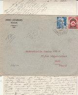 EAc Mixte Gandon/Algérie O. Hexagonal Boudoukha Constantine 1949 - Covers & Documents