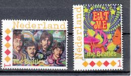 """Nederland Persoonlijke Zegel: The Beatles   """"eat Me""""+ Portretten - Neufs"""