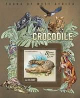 Sierra Leone   2015 Fauna  Nile Crocodile - Sierra Leone (1961-...)
