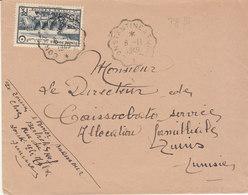 ESC 15f O. Convoyeur Ligne Constantine à Tunis 1949 - Lettres & Documents
