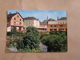 CINEY Le Quartier De La Gare Et La Rivière Le Leignon België Belgique Carte Postale Postcard - Ciney