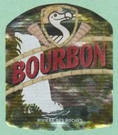 Ile LA REUNION,RIVIERE DES ROCHES, Brasseries Bourbon ,Biere Birra Cerveza Piwo Pilsen étiquettes - Bière