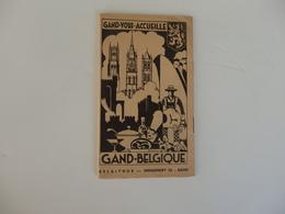Dépliant Touristique Sur Gand En Belgique. - Dépliants Touristiques