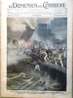 La Domenica Del Corriere 6 Maggio 1917 WW1 Douglas Haig Società Segrete Lanfranc - Guerra 1914-18