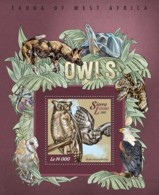 Sierra Leone 2015 Fauna  Owls - Sierra Leone (1961-...)