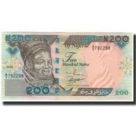Billet, Nigéria, 200 Naira, 2000, KM:29a, SPL - Nigeria
