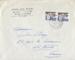 COVER LETTRE.  PORTUGAL PACO D'ARCOS TO FRANCE   /   2 - Non Classés