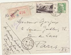 ESC Recommandée 55F Du BPM 517A O. Postes Aux Armées 1950 - 1921-1960: Modern Period