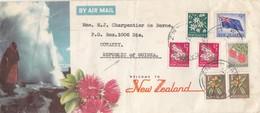 COVER LETTRE.  NEW ZELAND TO GUINEA   /   2 - Nouvelle-Zélande