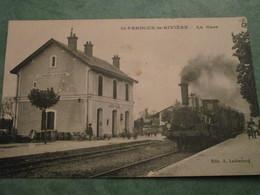 SAINT-PARDOUX-la-RIVIERE  - La Gare - Sonstige Gemeinden