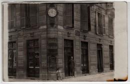 TORINO VIA BELFIORE-PALLAMAGLIO (OGGI VIA MORGARI) NEGOZIO DROGHERIA CASALEGNO - FOTO CARTOLINA ORIGINALE PRIMI DEL 1900 - Luoghi
