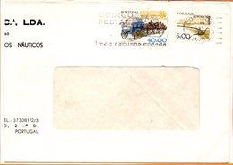 """Portugal, Lettre De Lisbonne, Flamme """"code Postal"""" - 1910-... République"""